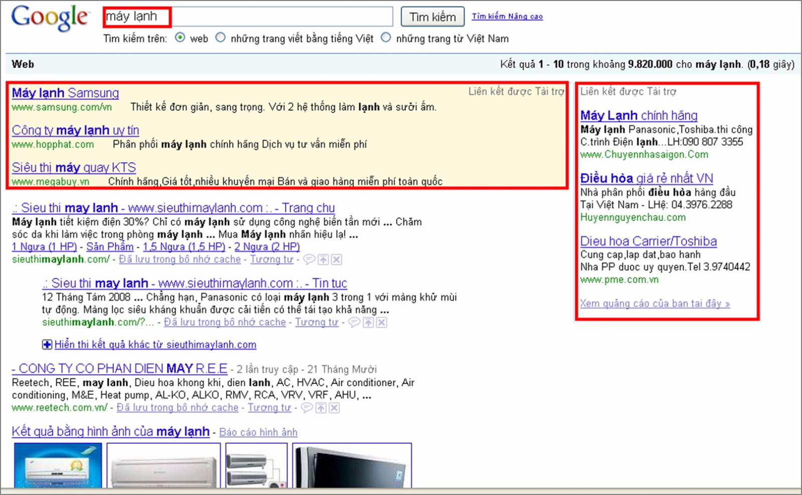 dịch vụ quảng cáo adword chất lượng với từ khóa